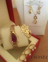 CHANEL WATCH & JEWELRY SET