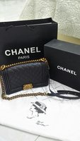 Used New Chanel Leboy Caviar Black Bag in Dubai, UAE