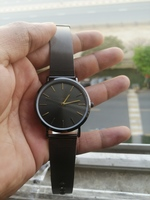 Used Men's watch black simple minimalist in Dubai, UAE