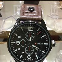 Curren Brand New For Men Watch Lather Strap