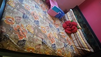 Used Bed along with mattress from ihea in Dubai, UAE