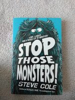 Used Stop those monsters book in Dubai, UAE