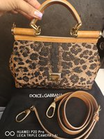 Used Preloved Dolce Gabbana Leopard Small Bag in Dubai, UAE