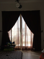 Used Dark brown curtains  in Dubai, UAE