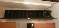Used Long mirror cabinet with 10 shelves in Dubai, UAE