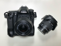 Used Canon 70d+10-18mm+18-55mm+grip+batteries in Dubai, UAE