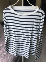 Striped long sleeved t-shirts