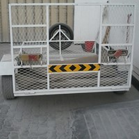 Used Trolly 2 Meters By 1.5 Meters For Desert Motorcycle Call Or What's up On 0501212499 in Dubai, UAE