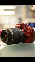 Used Nikon D3100 Red Edition with 18-55m Lens in Dubai, UAE