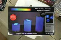 Used led remote control electronic candle 3 in 1 in Dubai, UAE