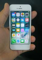Used Apple IPhone 5 16GB Silver White Good Condition Genuine Used Mobile  in Dubai, UAE