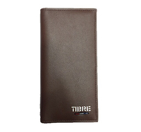 Cheqbook wallet - Brown (Leather)