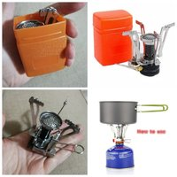 Used Portable stove pocket size+ card holder in Dubai, UAE