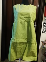Used Xxl green wide dress for her in Dubai, UAE