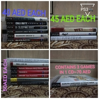 Used PS3 GAMES(PRICE MENTIONED IN PICTURES ) in Dubai, UAE