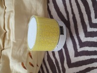 Used New mini bluetooth speaker yellow lights in Dubai, UAE