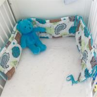 Cot Bumper & Brand New Cot Sheet. Price Includes The Delivery