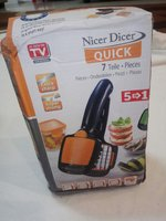 Used Nicer Dicer Quick 5 in 1 Vegetable Slice in Dubai, UAE