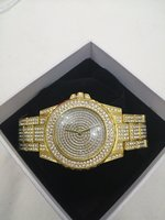 Used 2 Lupai Fashion Watch  Gold in Dubai, UAE