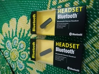 2 pieces Bluetooth headset new