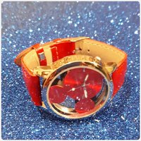 Fabulous red watch fashion