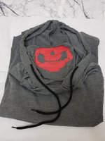 Used Men's Long Sleeve Hoodie with mask | L in Dubai, UAE