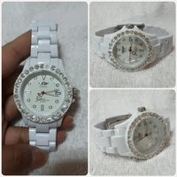Used New white LONDON watch for lady. in Dubai, UAE