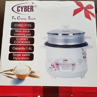 Used Cyber rice cooker new never used in Dubai, UAE
