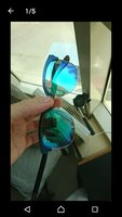 Used Rayban  RB 3538 Metalic Polarized in Dubai, UAE