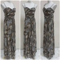 Used Elegant made in Turkey long dress. in Dubai, UAE