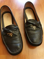 Used Prada authentic shoe size 37.5 with gift in Dubai, UAE