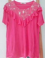 Used Pink lovely shirt in Dubai, UAE