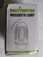 Used mosquito killer camping lamp gray in Dubai, UAE