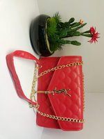 Used YSL sling bag red in Dubai, UAE