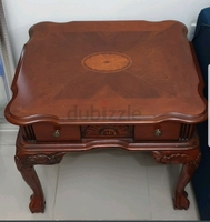Used Heavy wooden side table in Dubai, UAE