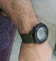 Used ArmyGreen 3D Pedometer Fitness Watch▪New in Dubai, UAE