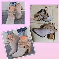Used New fashionable heels boots size 35 in Dubai, UAE