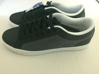Used Black Lacoste shoes in Dubai, UAE