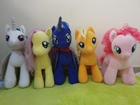 Used Little Pony Stuff Toys 40 aed each Large in Dubai, UAE