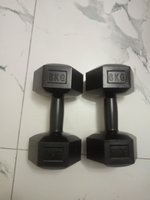 Used Dumbbells, 6kg 2 pieces in Dubai, UAE