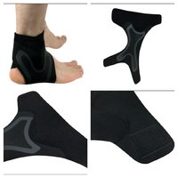 1 pair anti sprain sports ankle sleeves