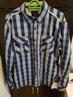 Used Shirt ONE90ONE -Blue in Dubai, UAE
