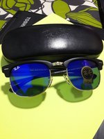 Used Rayban sunglass with hard case in Dubai, UAE