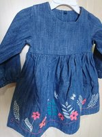 Used Baby girl denim shirts in Dubai, UAE