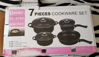 Used Cooking set non-stick with some damage in Dubai, UAE