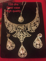 Crystal necklace set new