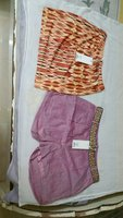 Used Shorts for Women 2pcs(Pink-38,Orange-40) in Dubai, UAE
