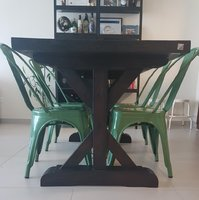 Used The One Dining Table with 4 Ebarza seats in Dubai, UAE