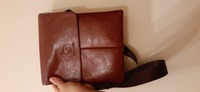 Used Brown leather small bag in Dubai, UAE