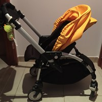 Used Stroller , Canopy Is Broken But Still Working Fine In Good Price With Bouncer in Dubai, UAE